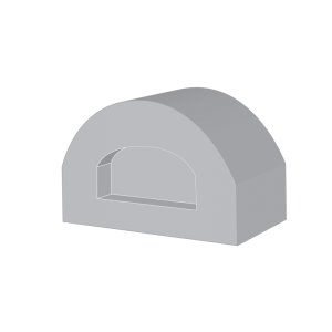 Gas pizza oven illustration