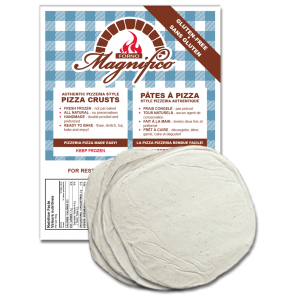 Pizza Crusts gluten-free Forno Magnifico Pizzeria Pizza Made Easy!