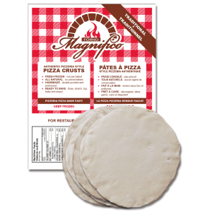 Pizza Crusts traditional Forno Magnifico Pizzeria Pizza Made Easy!